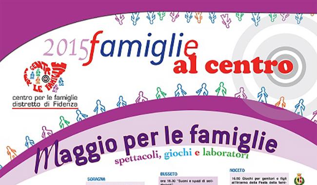 Ultimo appuntamento di ''Famiglie al centro'' a Noceto