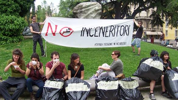 Inceneritore, Gcr invita alla mobilitazione