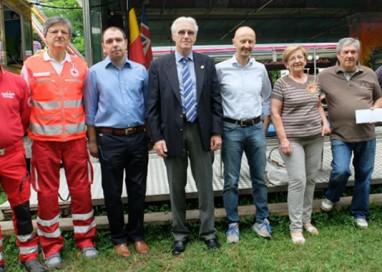 I giostrai devolvono 3000 euro al volontariato