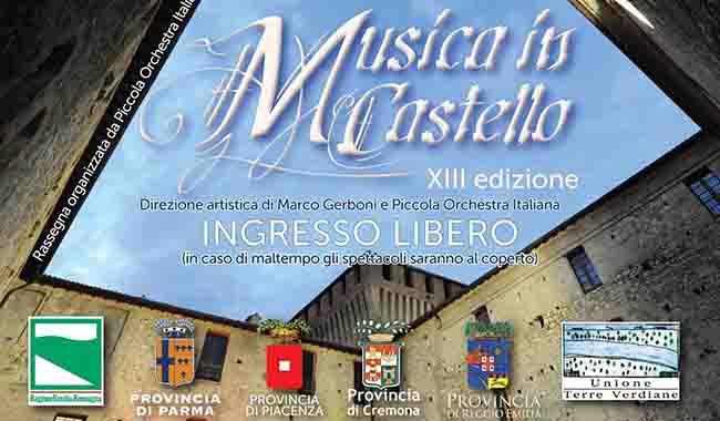 """""""Musica in Castello"""" continua a luglio"""