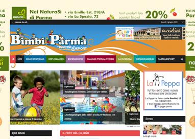 "Parmareport cresce: è online ""BimbiParma""!"