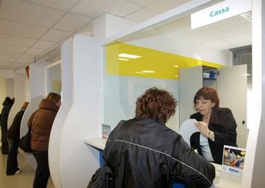 AUSL: da adesso ticket pagabile in qualunque banca