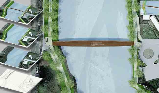 Il ponte della Navetta comincia a prender forma