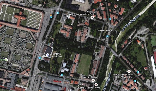 Il progetto esecutivo del Parco di Villa Parma