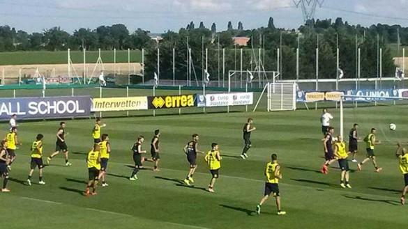 Il Parma riprende gli allenamenti, assente Gervinho