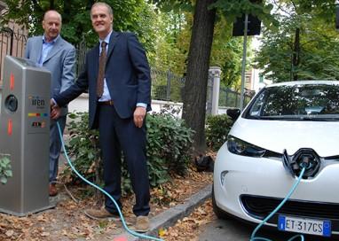 Cinque nuove colonnine per auto elettriche