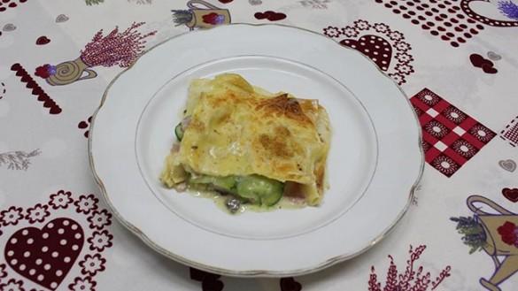 Lasagne zucchine e funghi