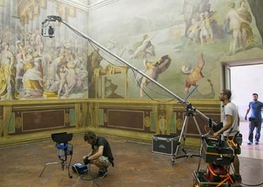 """Riprese Rai al Palazzo Ducale per la serie """"Dinastie"""""""
