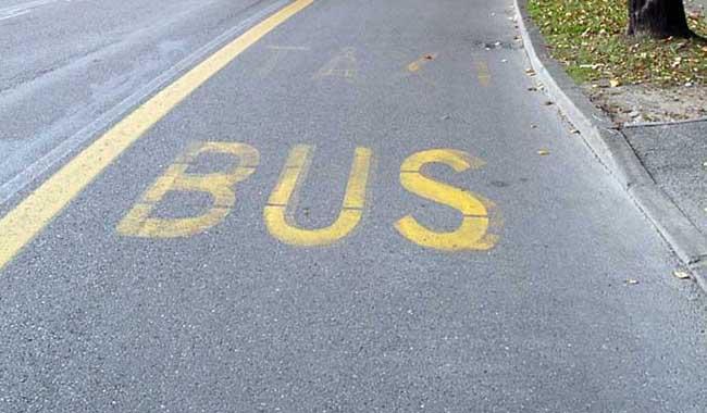 Varchi bus. In arrivo segnaletica orizzontale?