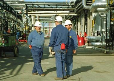 Calo produzione a Parma. Pil in crescita in Italia