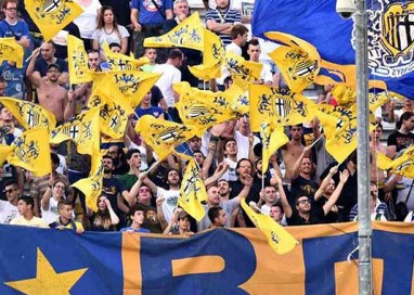 0-3 per Clodiense-Parma. Gialloblu in vetta con 19 punti
