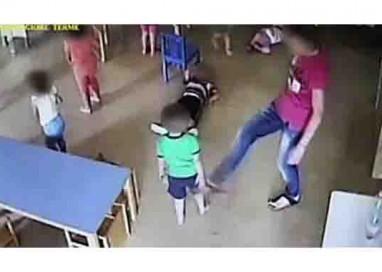 Asilo: Calci, schiaffi e strattoni a bimbi con meno di tre anni