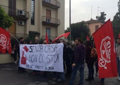 Sgombero dell'immobile in via Cagliari