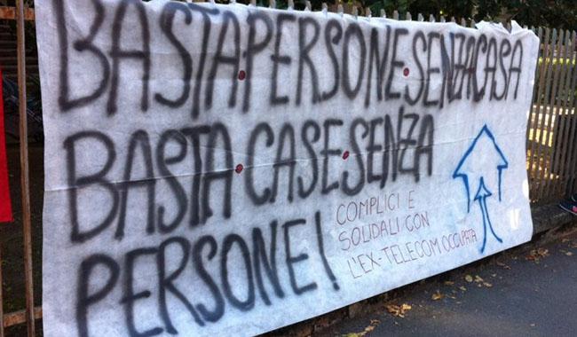 """Occupata via Zarotto: """"Situazione casa drammatica"""""""