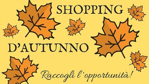 Shopping d'autunno per il centro storico di Parma