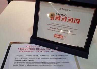 Premio EGOV 2015 per il Comune di Parma