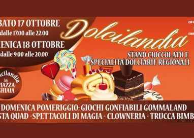 Dolcilandia in Piazza Ghiaia sabato e domenica