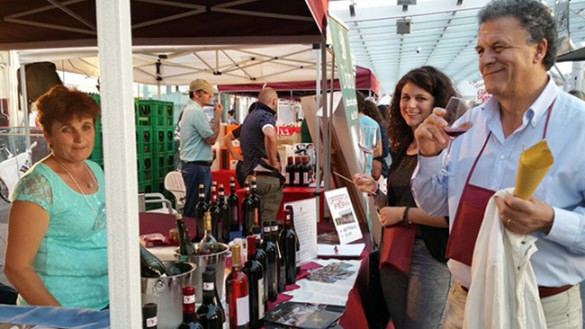 Street Food & Festa del Vino in piazza Ghiaia