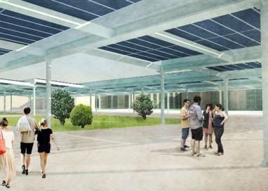 Piazza – giardino Fotovoltaica del Campus