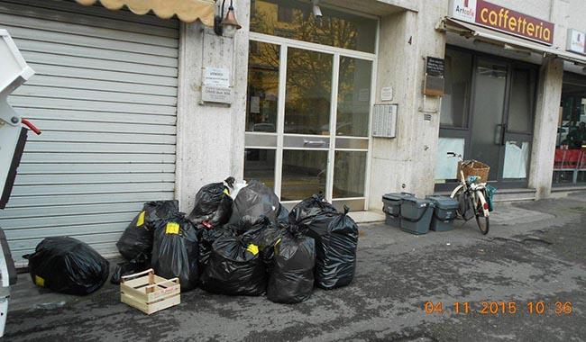 Controlli rifiuti al quartiere San Leonardo: 8 sanzioni