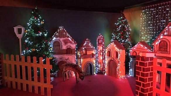 È arrivata la Casa di Babbo Natale in Cittadella