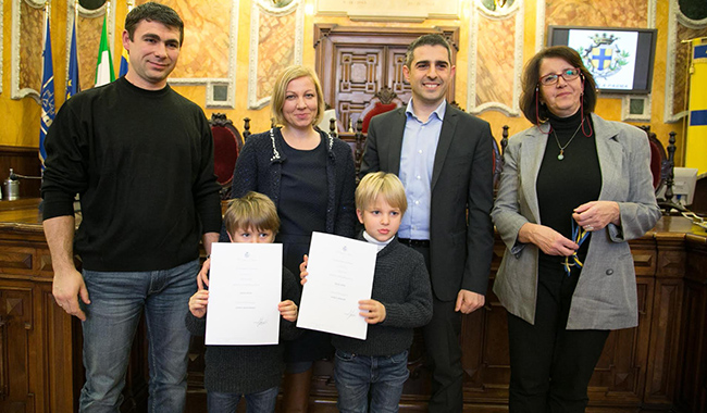 """GALLERY. Cerimonia per i nuovi """"Cittadini di Parma"""""""