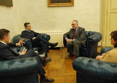 Scuola per l'Europa: il preside incontra il sindaco