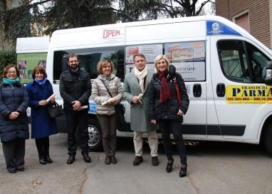 Il Comune ha un nuovo mezzo per trasporto disabili