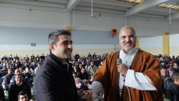 Moschea aperta, sindaco presente