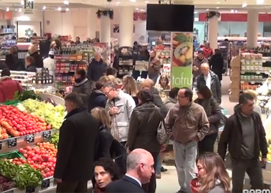 VIDEO. Conad, apertura col botto. Bilancio positivo
