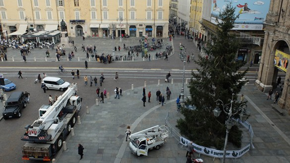 L'Albero di Natale in Piazza