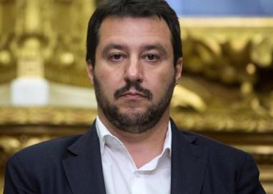 Matteo Salvini a Parma per un incontro con i cittadini