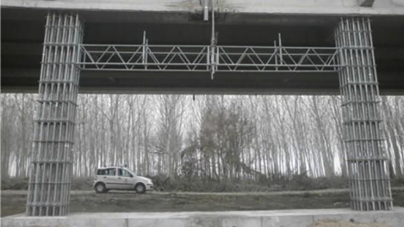 Ponte sul Po, concluso il puntellamento dei traversi