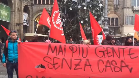 Protesta anti sfratti