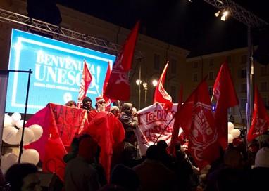 Festa Unesco interrotta da protesta anti sfratti