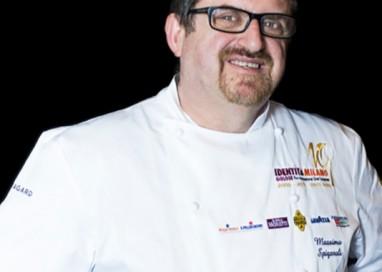 Chef Massimo Spigaroli al festival Omnivore di Parigi