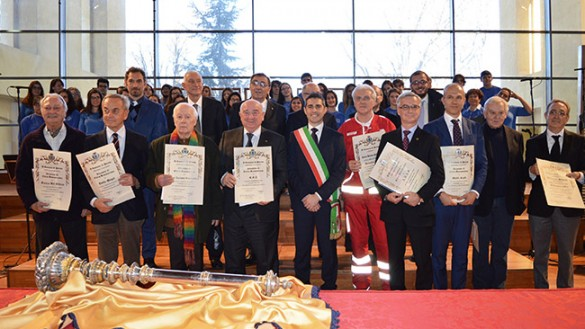 Sant'Ilario: due medaglie d'oroe sette benemerenze