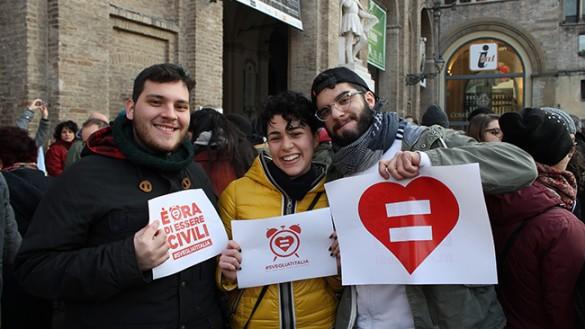 "Unioni civili: ""Svegliati Italia"""