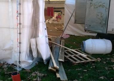 Degrado Cittadella: Abbandonata Casa Babbo Natale