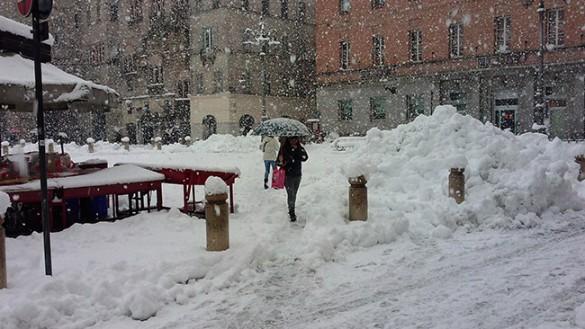 Allerta neve in Regione per giovedì 14 gennaio