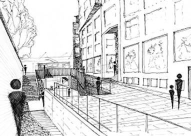 """Piazza Ghiaia """"ingloba"""" il Ponte Romano"""