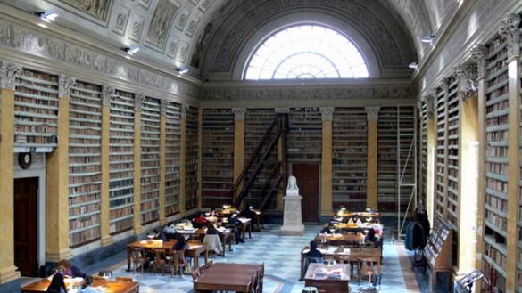 Biblioteca Palatina. La rivolta del personale