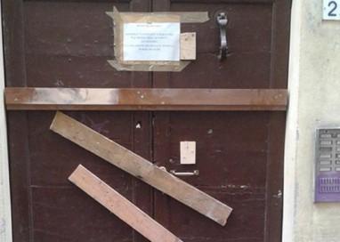 Borgo Bosazza: sigillate le porte degli stabili occupati