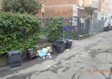 Controllo raccolta differenziata. 3 sanzioni in quartiere Pablo