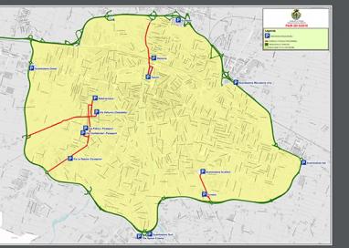 Limitazioni del traffico: la nuova cartografia delle aree