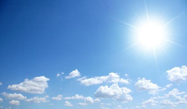 Meteo: temperature oltre i 30° gradi tutta la settimana
