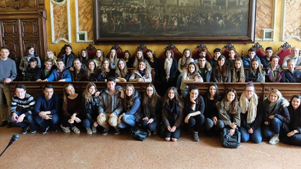 STUDENTI DA WORMS A PARMA