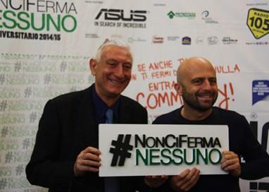 Luca Abete all'Università di Parma con il #Noncifermanessuno