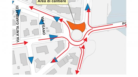 P.le Marsala: limitazioni al traffico sabato e domenica