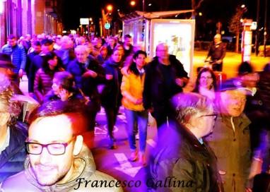 """""""Parma non ha paura"""": 320 persone in cammino per la città"""